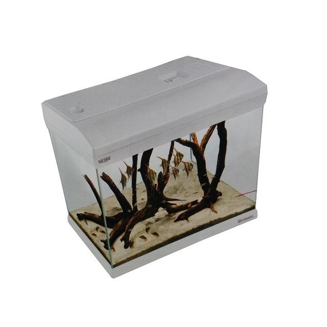 Acquario bianco mirabello 30 led mondo acquatico - Mirabello mobili ...